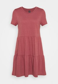 GAP - TIERED - Jersey dress - cosmetic pink - 0
