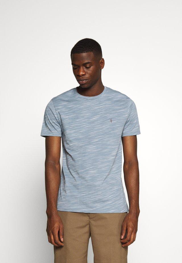 OWEN CREW - T-shirt print - enamel blue