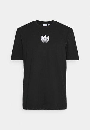 TEE UNISEX - T-shirts med print - black/white