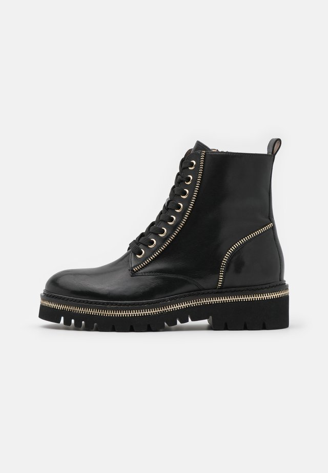 17 ZIP STREET - Veterboots - black