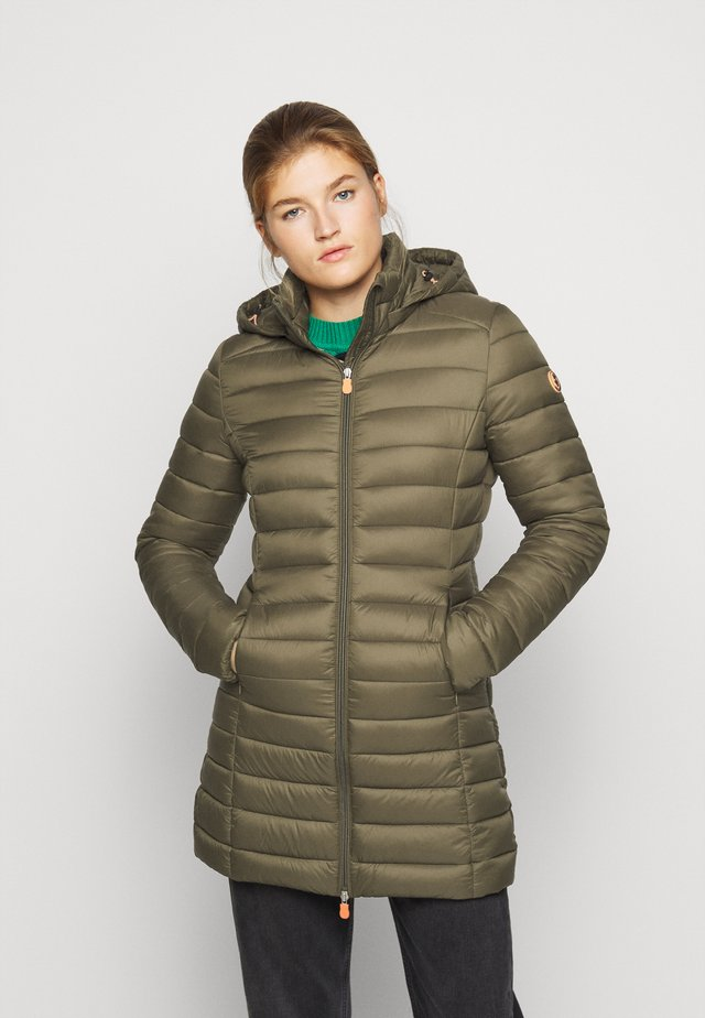 GIGAY - Winter coat - bark green