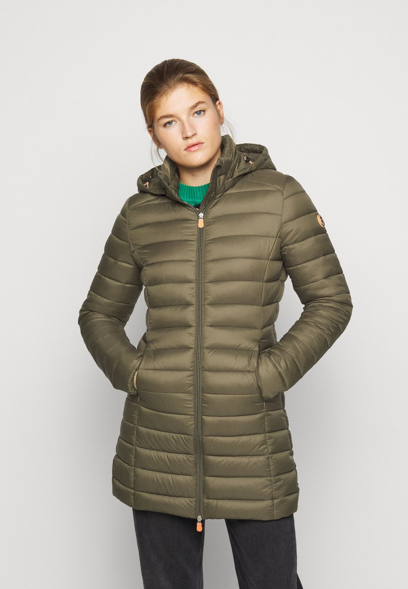 Save the duck - GIGAY - Winter coat - bark green