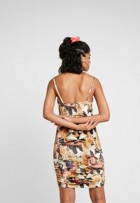 NEW girl ORDER - ORIENTAL PRINT DRESS STRAPS - Fodralklänning - multi - 2