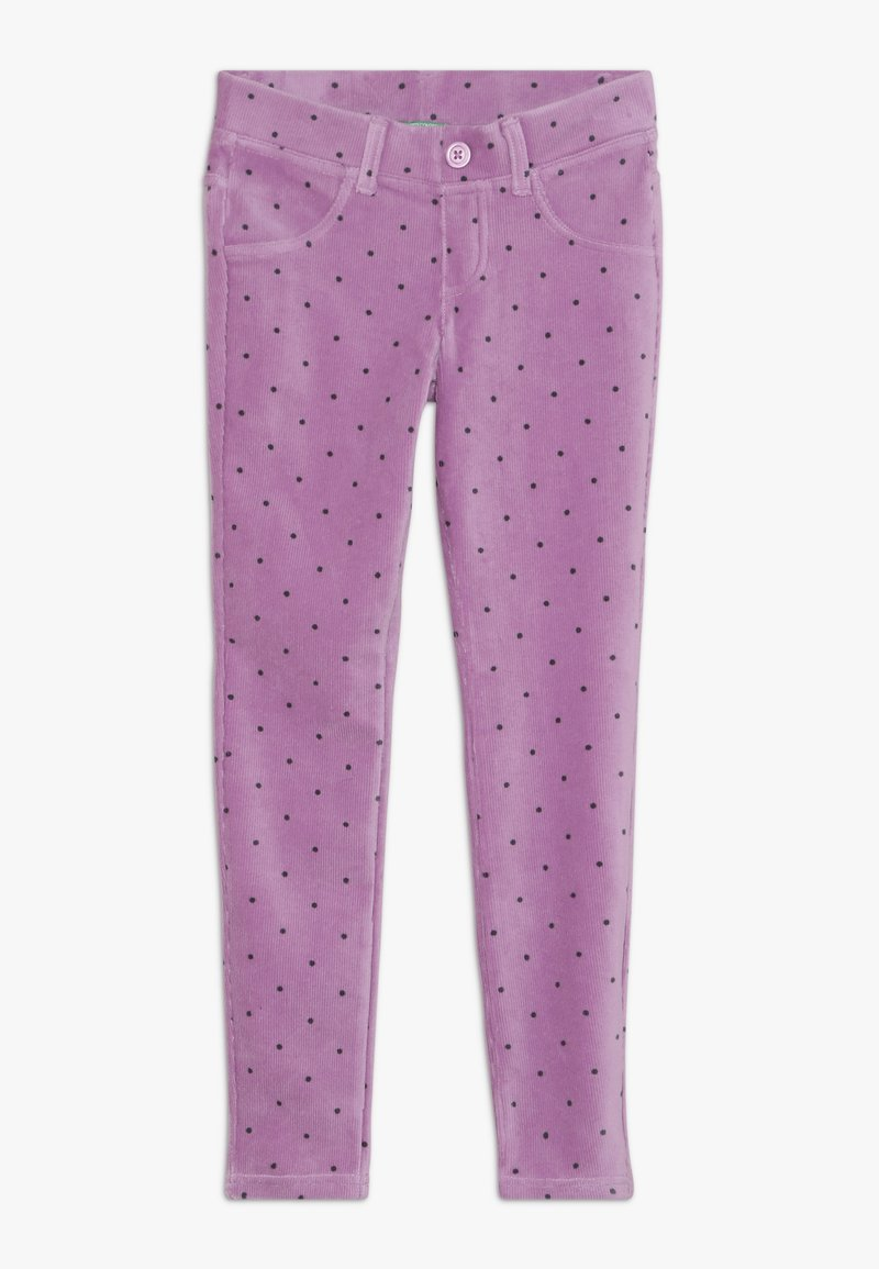 Benetton - TROUSERS - Bukser - purple