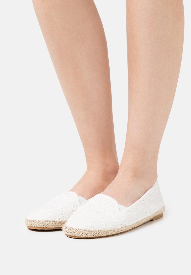 Anna Field - 2 PACK - Loafers - white/dark blue