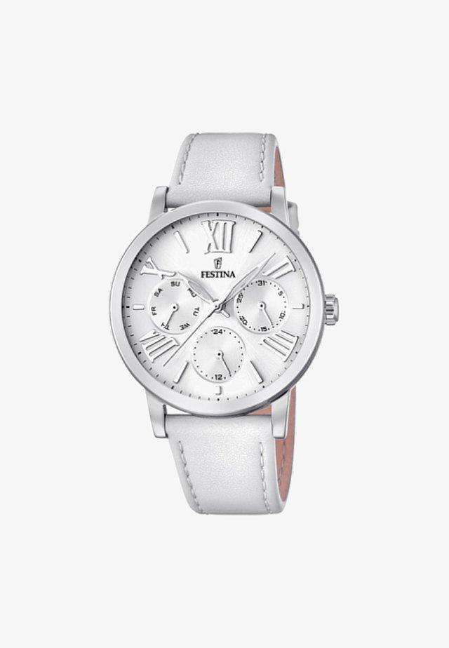 Chronograph watch - white