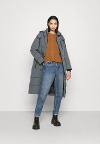 Superdry - LONGLINE EVEREST COAT - Winter coat - slate - 1