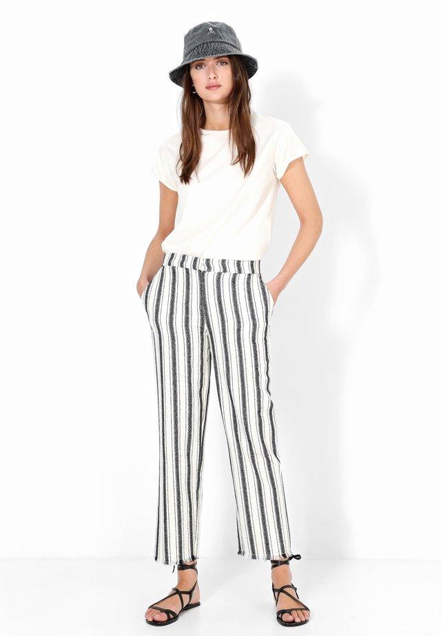 PALI PANT - Pantaloni - black stripes