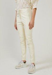 Aaiko - SOSY  - Trousers - cream - 0