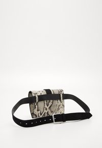 Just Cavalli - Bum bag - light grey/black - 2