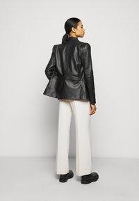 2nd Day - MILLER - Leather jacket - black - 2