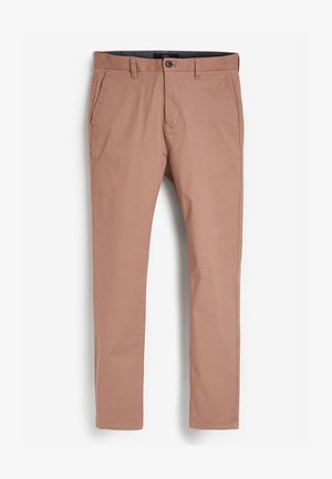 SLIM FIT - Trousers - pink