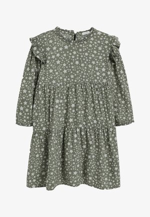 TIERED - Denní šaty - khaki
