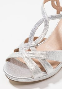 Menbur - High heeled sandals - silver - 2