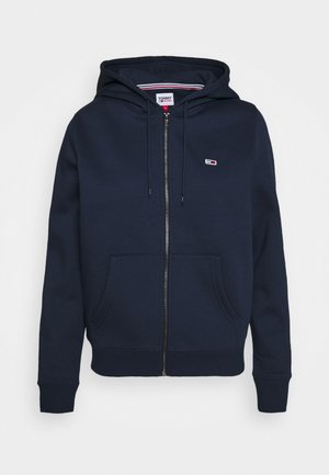 REGULAR HOODIE ZIP THROUGH - Felpa aperta - twilight navy