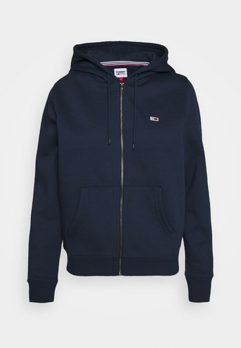 REGULAR HOODIE ZIP THROUGH