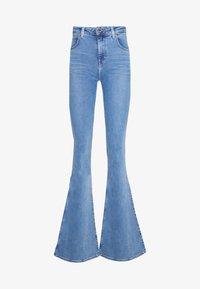 SUPER HIGH FLARE OPTIX - Flared Jeans - brighton rock