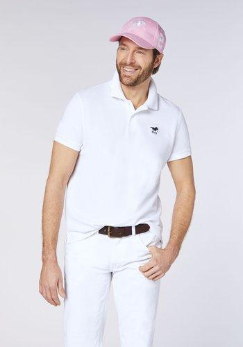 Polo shirt - bright white