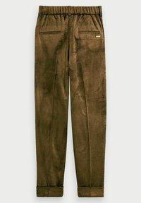 Scotch & Soda - HIGH-RISE - Trousers - military green - 5