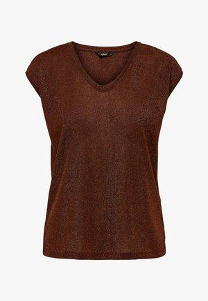 Basic T-shirt - henna