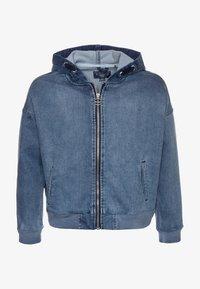 Blue Effect - GIRLS HOODIE - Denim jacket - medium blue - 0