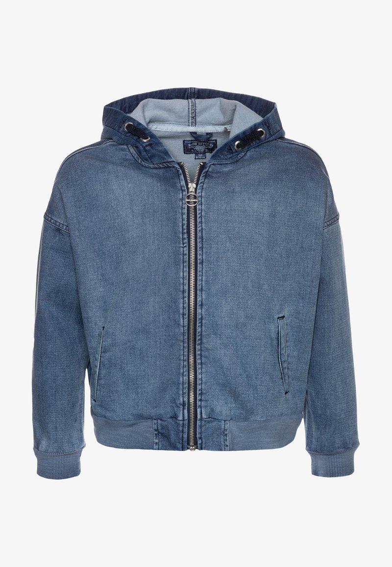 Blue Effect - GIRLS HOODIE - Denim jacket - medium blue