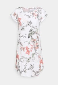 Lindex - NIGHT DRESS BIG T AMANDA - Nightie - off white - 0