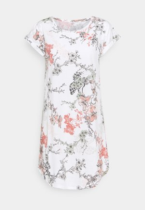NIGHT DRESS BIG T AMANDA - Nightie - off white