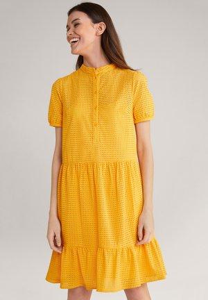 Shirt dress - melba orange
