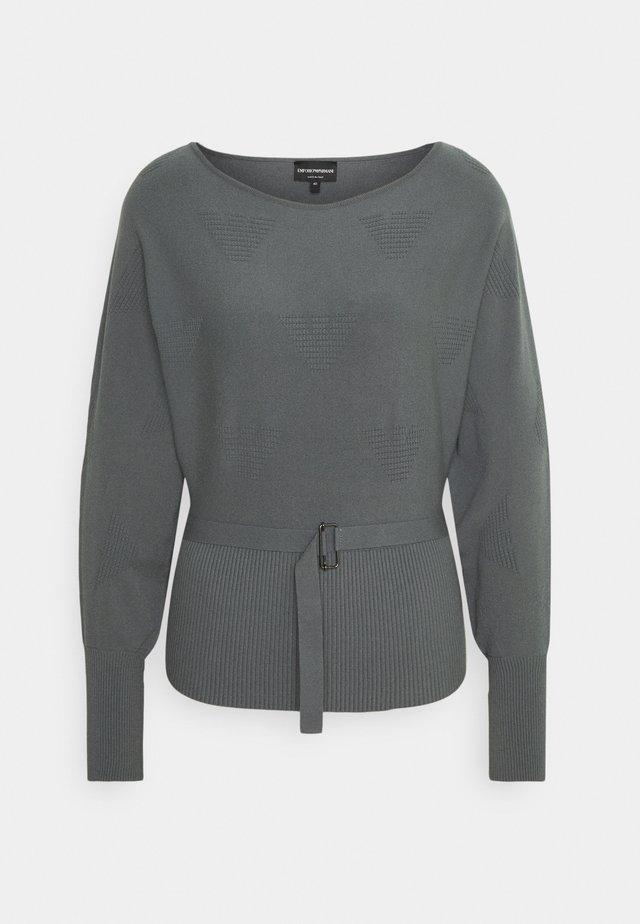 Sweter - grigio minerale