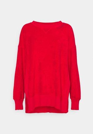 GARDEN CREW - Fleecegenser - chilly red