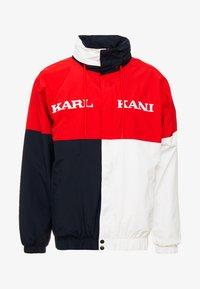 Karl Kani - RETRO BLOCK WINDBREAKER - Summer jacket - red/black/white - 5