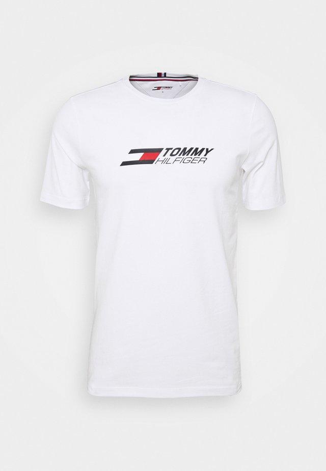 LOGO TEE - T-shirt print - white