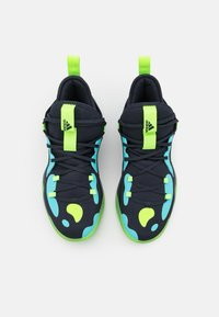 adidas Performance - HARDEN STEPBACK 2 BASKETBALL BOUNCE SHOES - Zapatillas de baloncesto - legend ink/signal green/pulse aqua - 3