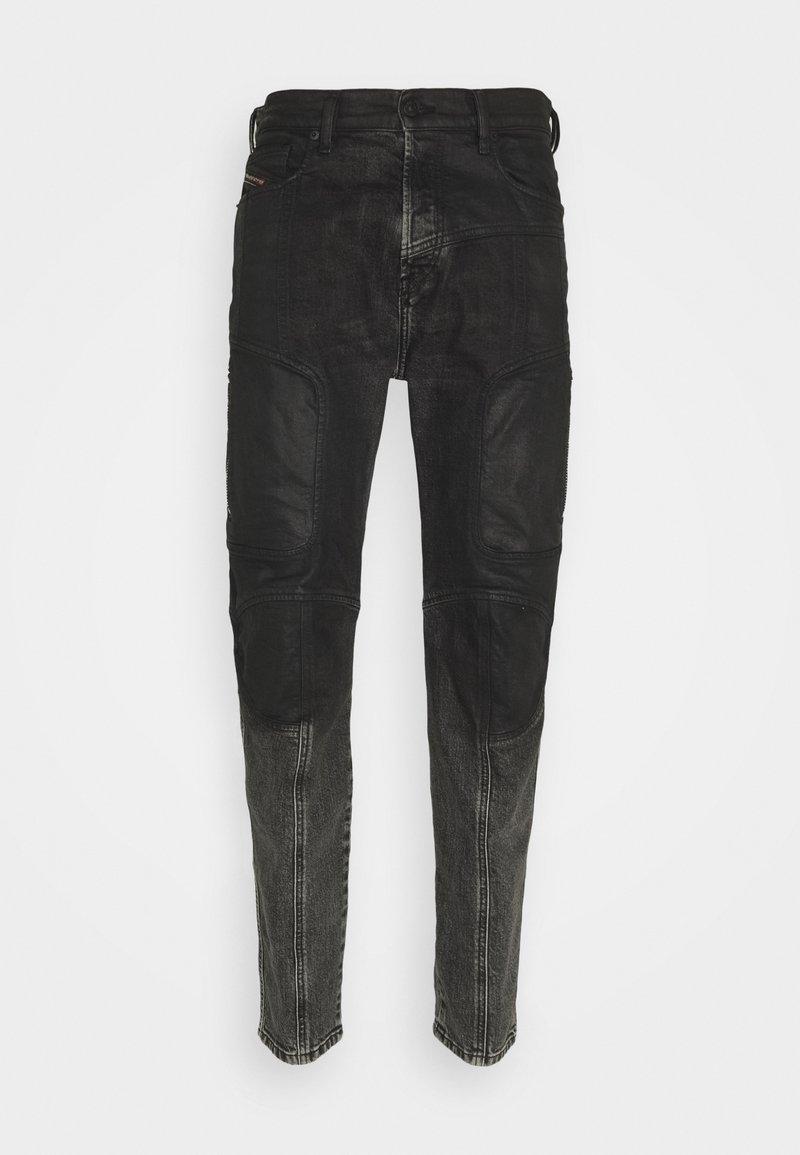 Diesel - D-VIDER-BK-SP - Relaxed fit jeans - 009qz 02