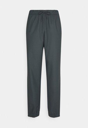PANTS UNISEX - Trousers - slate