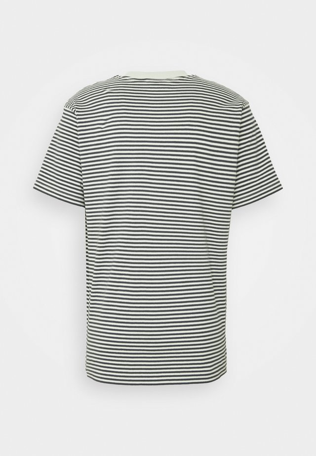 IDEALS STRIPE TEE - T-shirt print - aqua /multi