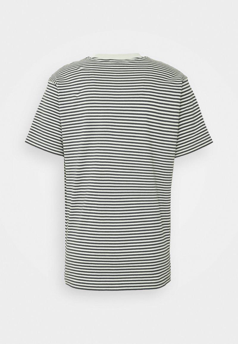Obey Clothing - IDEALS STRIPE TEE - Print T-shirt - aqua /multi