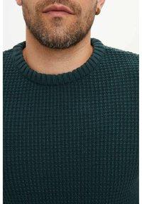 DeFacto - Stickad tröja - green - 3