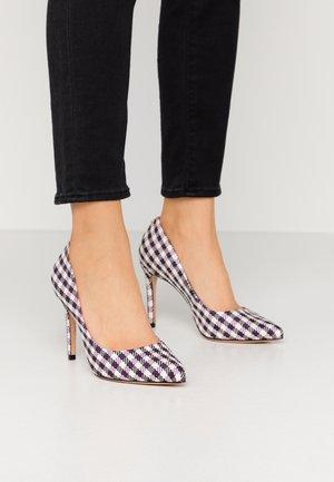 AZOA - High heels - blanc rose
