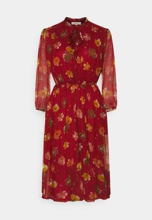 DRESS - Day dress - caramel