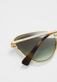 VOGUE Eyewear - Occhiali da sole - gold-coloured/green - 4