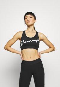 Champion - BRA - Reggiseno sportivo con sostegno medio - black - 0