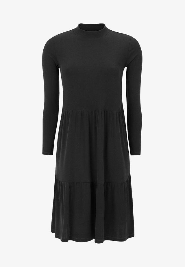 RILLA LS  - Jumper dress - black