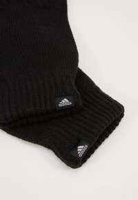 adidas Performance - PERF GLOVES - Fingervantar - black/black/medium grey smoked - 5