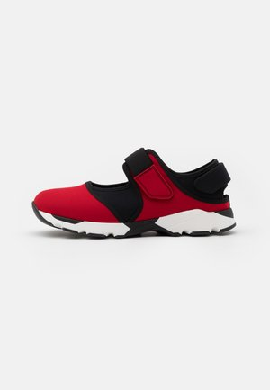 UNISEX - Trainers - red/black