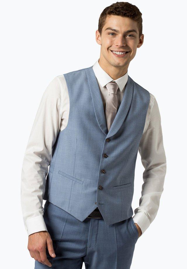 Suit waistcoat - hellblau