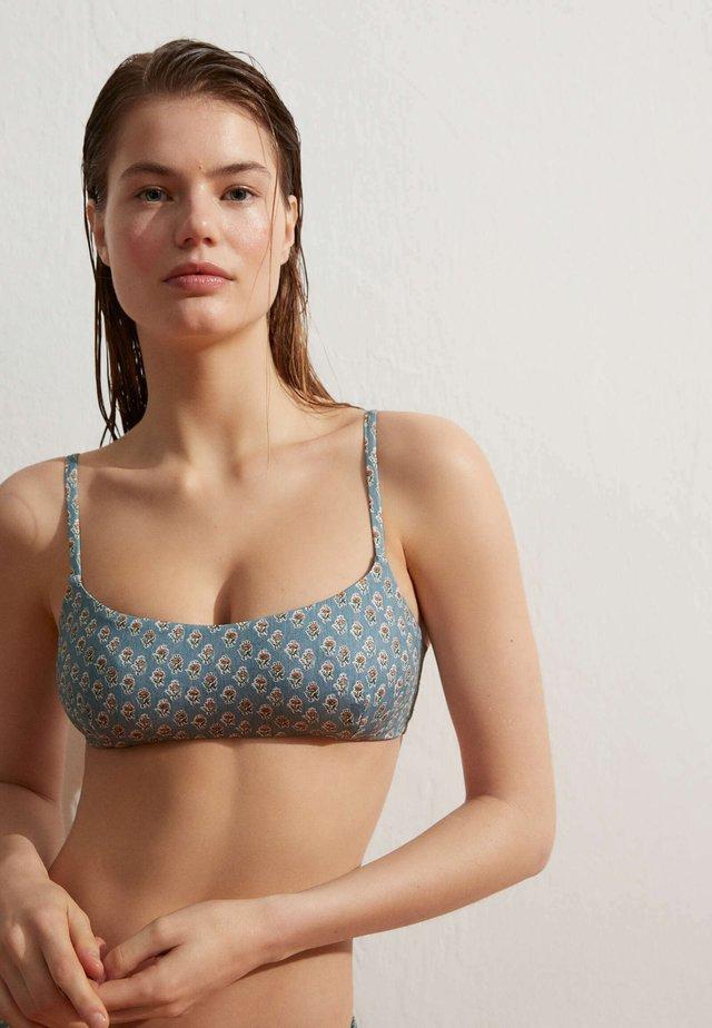 Bikini-Top - blue