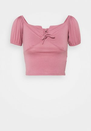 Camiseta estampada - rose