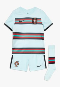 Nike Performance - PORTUGAL FPF LK NK BRT KIT AW SET - Sports shorts - teal tint/black - 0